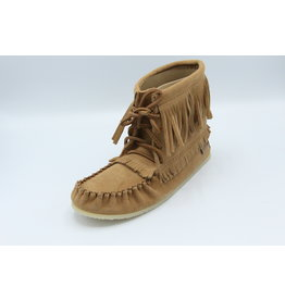 Apache Thin Fringe Boot Moka