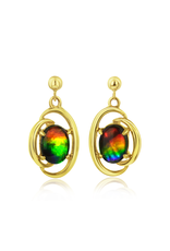 Rosalind Gold Earrings - E257P14