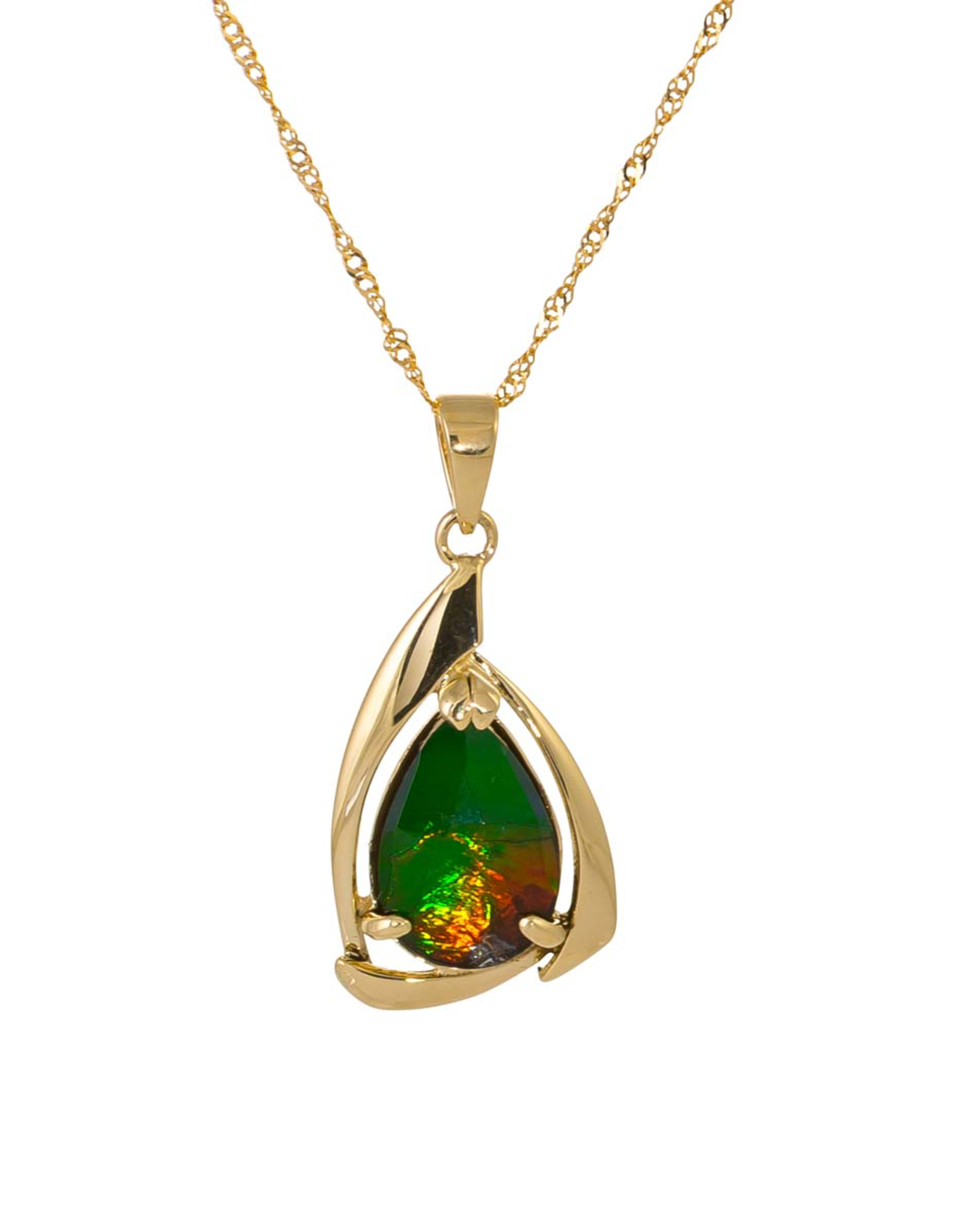 Pearl Gold Pendant - P2436F114