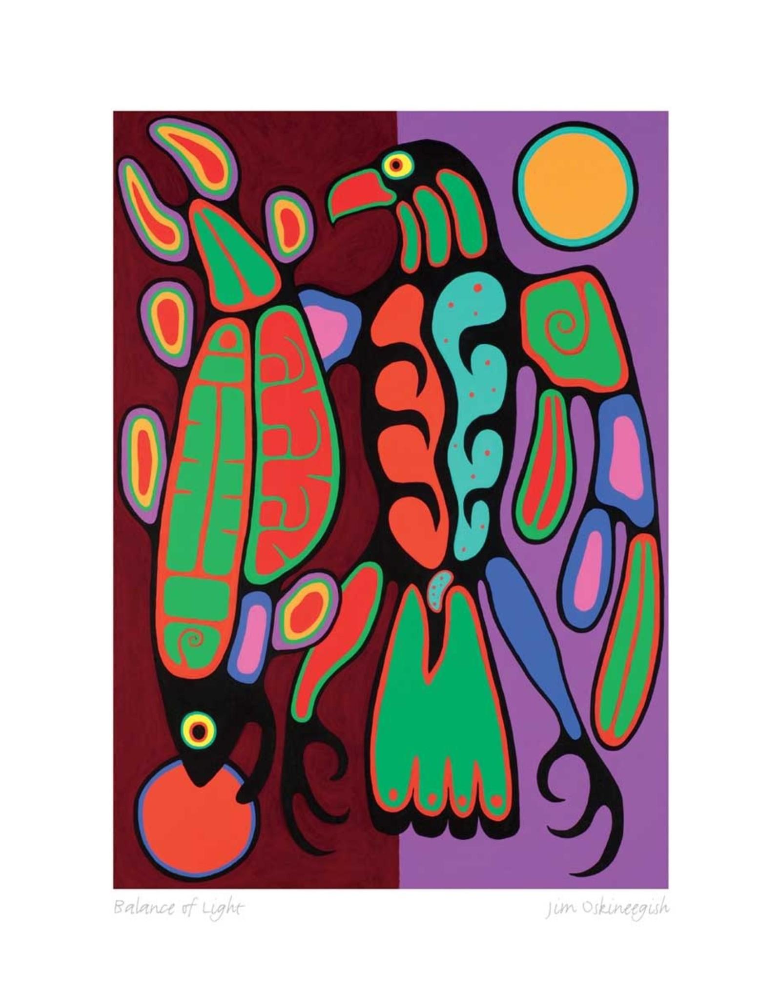 Balance of Light by Jim Oskineegish Limited Edition