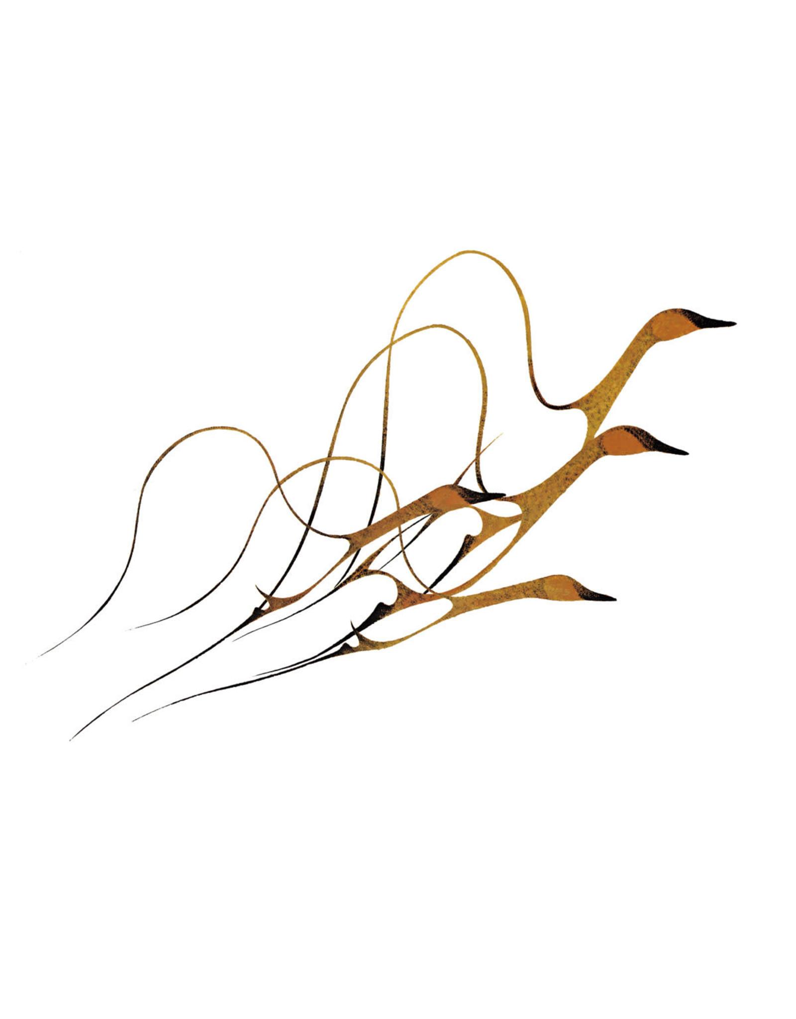 Spring Flight par Benjamin Chee Chee Édition Limitée Encadrée
