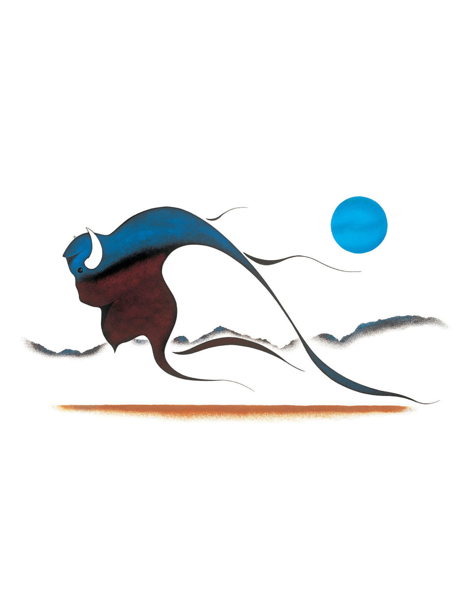 Buffalo Spirit par Isaac Bignell Édition Limitée Encadrée