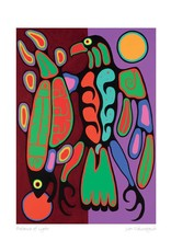 Balance of Light par Jim Oskineegish Édition Limitée Encadrée