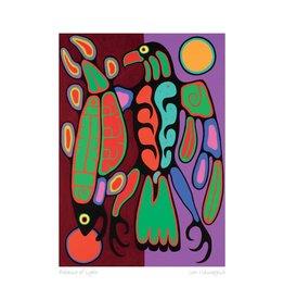 Balance of Light by Jim Oskineegish Framed Limited Edition