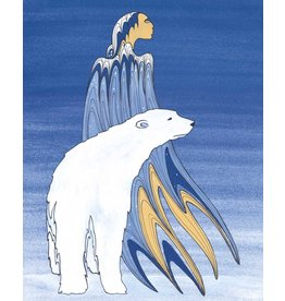 Mother Winter by Maxine Noel Framed Limited Edition