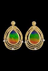 Solara Earrings Gold