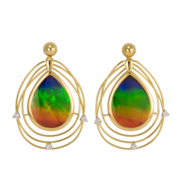Solara Earrings Gold