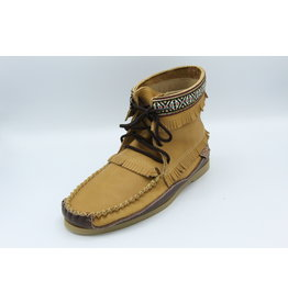 Leather Boot Moccasin