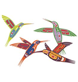 Four Hummingbirds by Ben Houstie Limited Edition