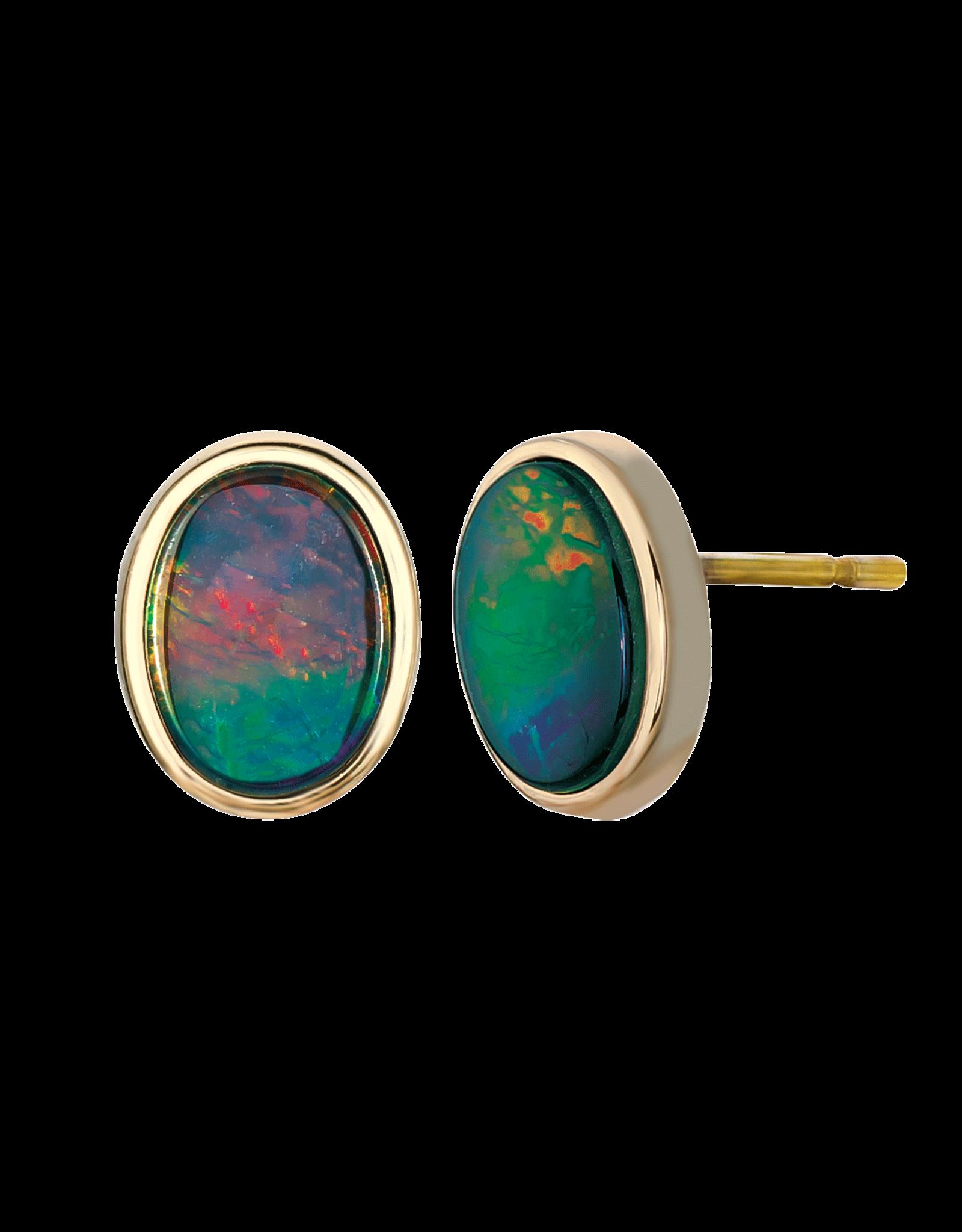 Nikita Gold Earrings