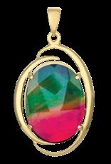Rosalind (Royal) Gold Pendant