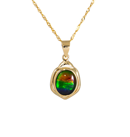 Nelia Gold Pendant