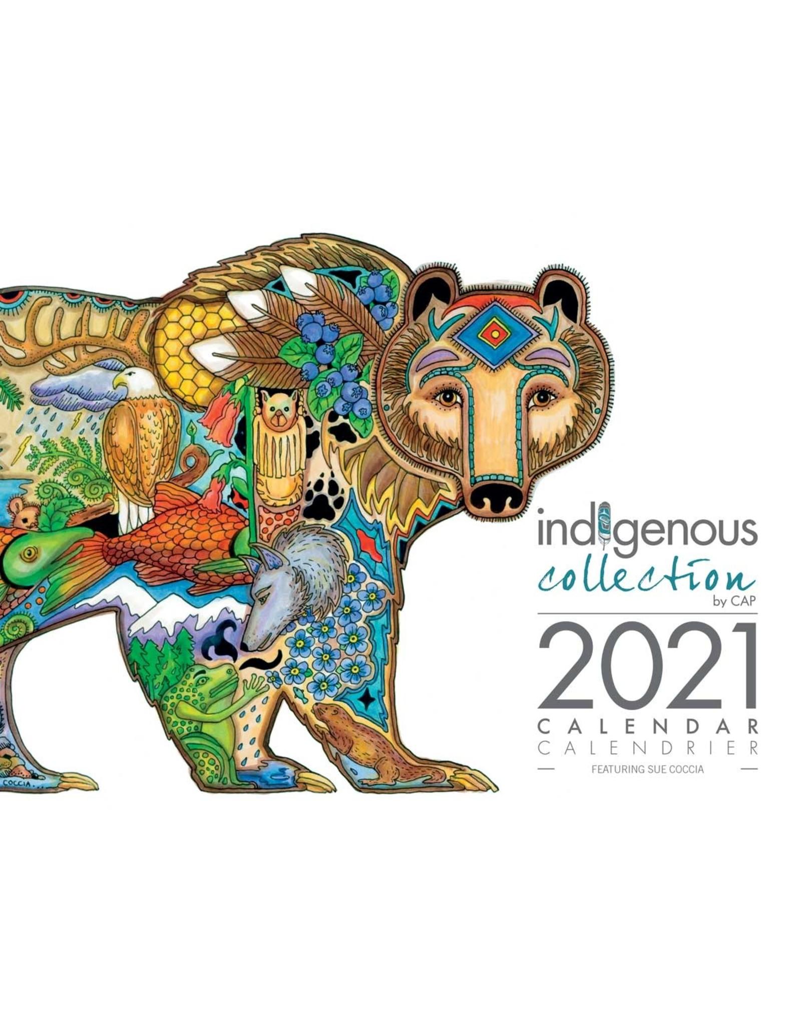 Sue Coccia 2021 Calendar   CAL 113   La Boutique Boréale
