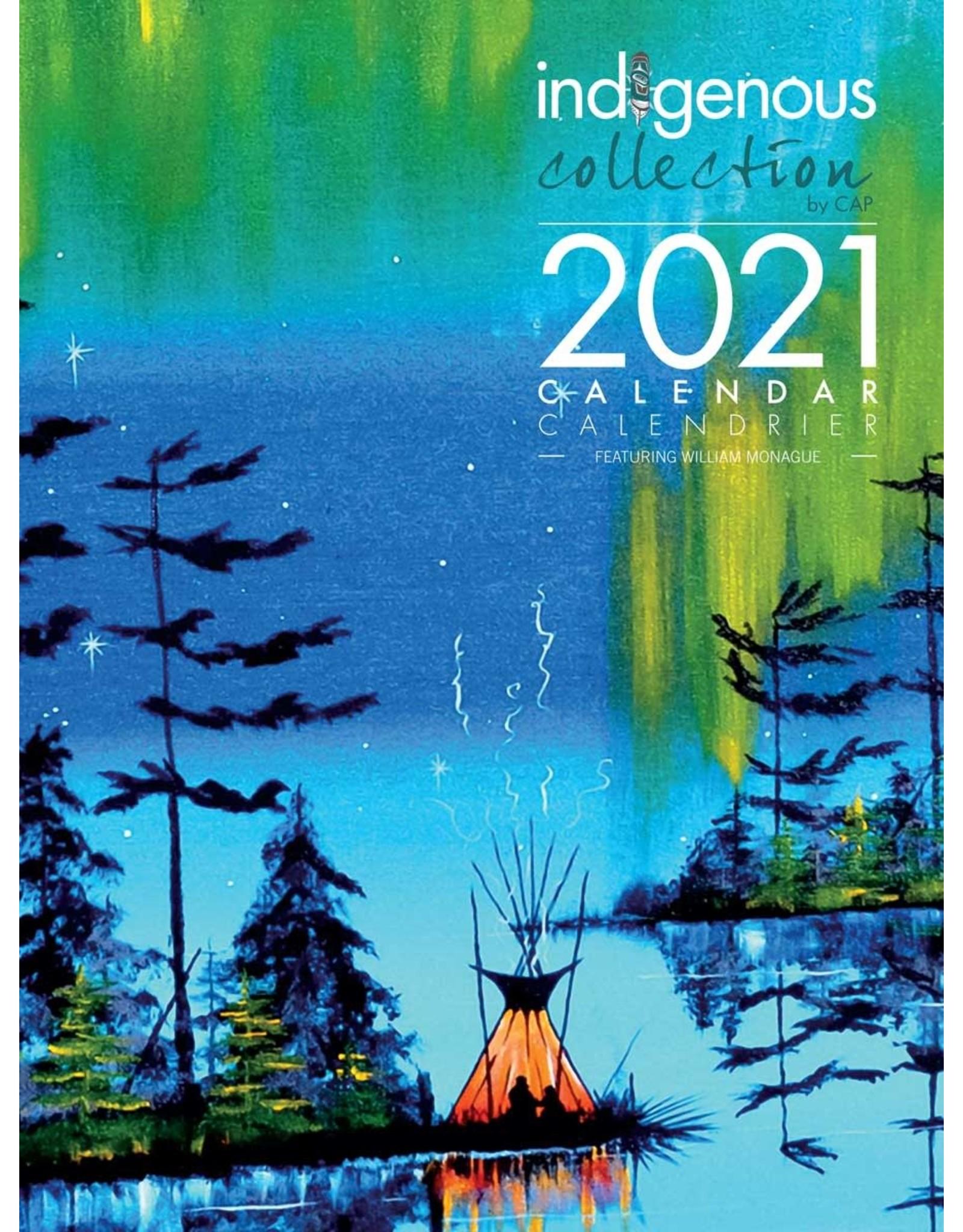 William Monague 2021 Calendar - CAL 122