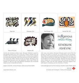 Boîte de 12 Cartes Kenojuak Ashevak - Boîte 105