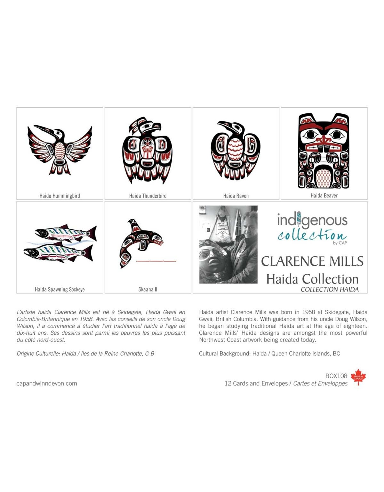 Haida Collection 12 Card Box - Box 108