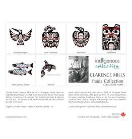 Boîte de 12 Cartes Collection Haida - Boîte 108