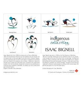 Boîte de 12 Cartes Isaac Bignell - Boîte 123