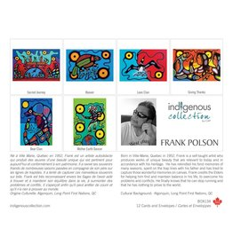 Boîte de 12 Cartes Frank Polson - Boîte 134