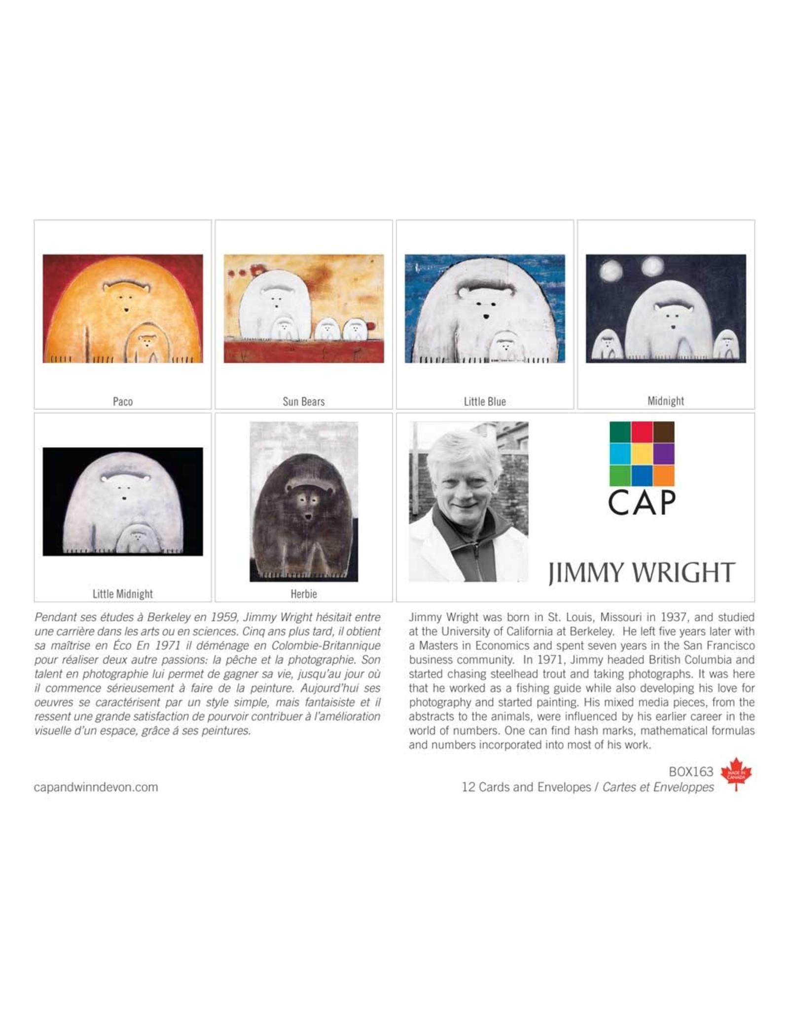 Jimmy Wright 12 Card Box - Box 163
