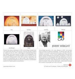 Boîte de 12 Cartes Jimmy Wright - Boîte 163