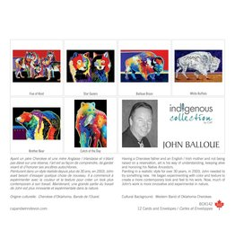 John Balloue 12 Card Box - Box 142
