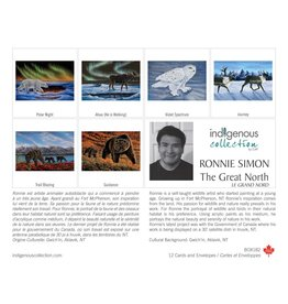 The Great North by Ronnie Simon 12 Card Box - Box 182