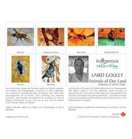 Boîte de 12 Cartes Animaux de Notre Terre - Boîte 183
