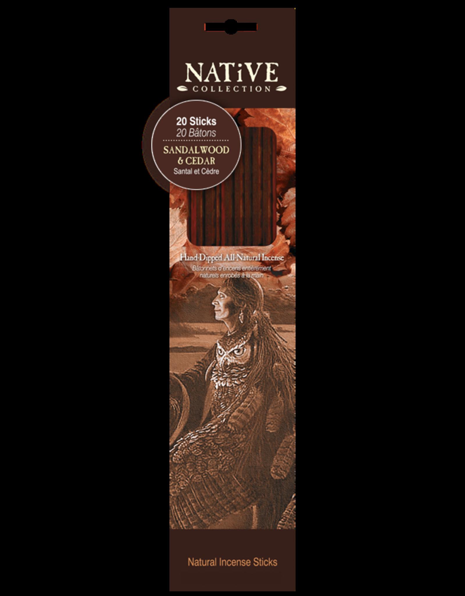 Native Collection Natural Incense Sticks