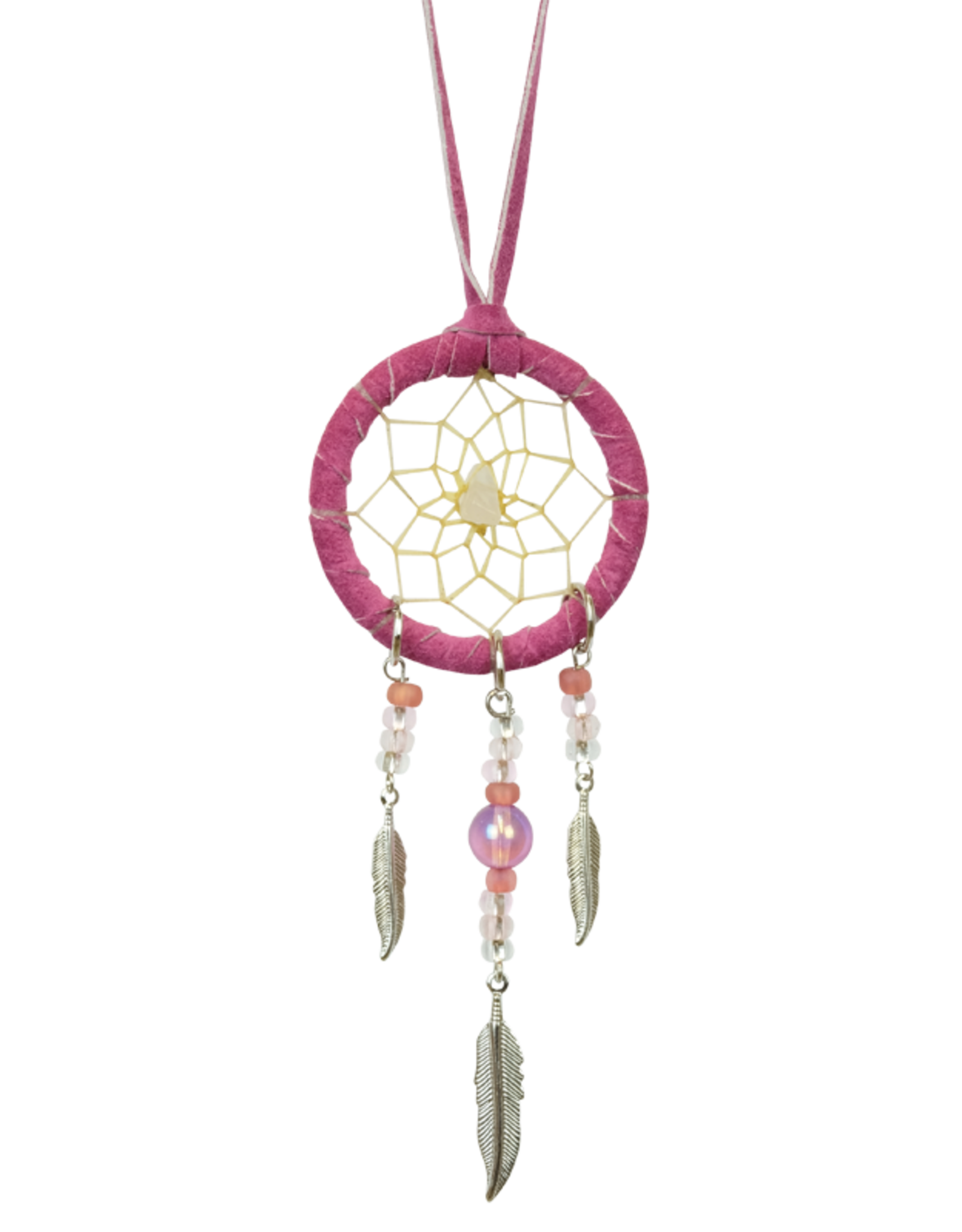 Dreamcatcher with Metal Feathers - DC342