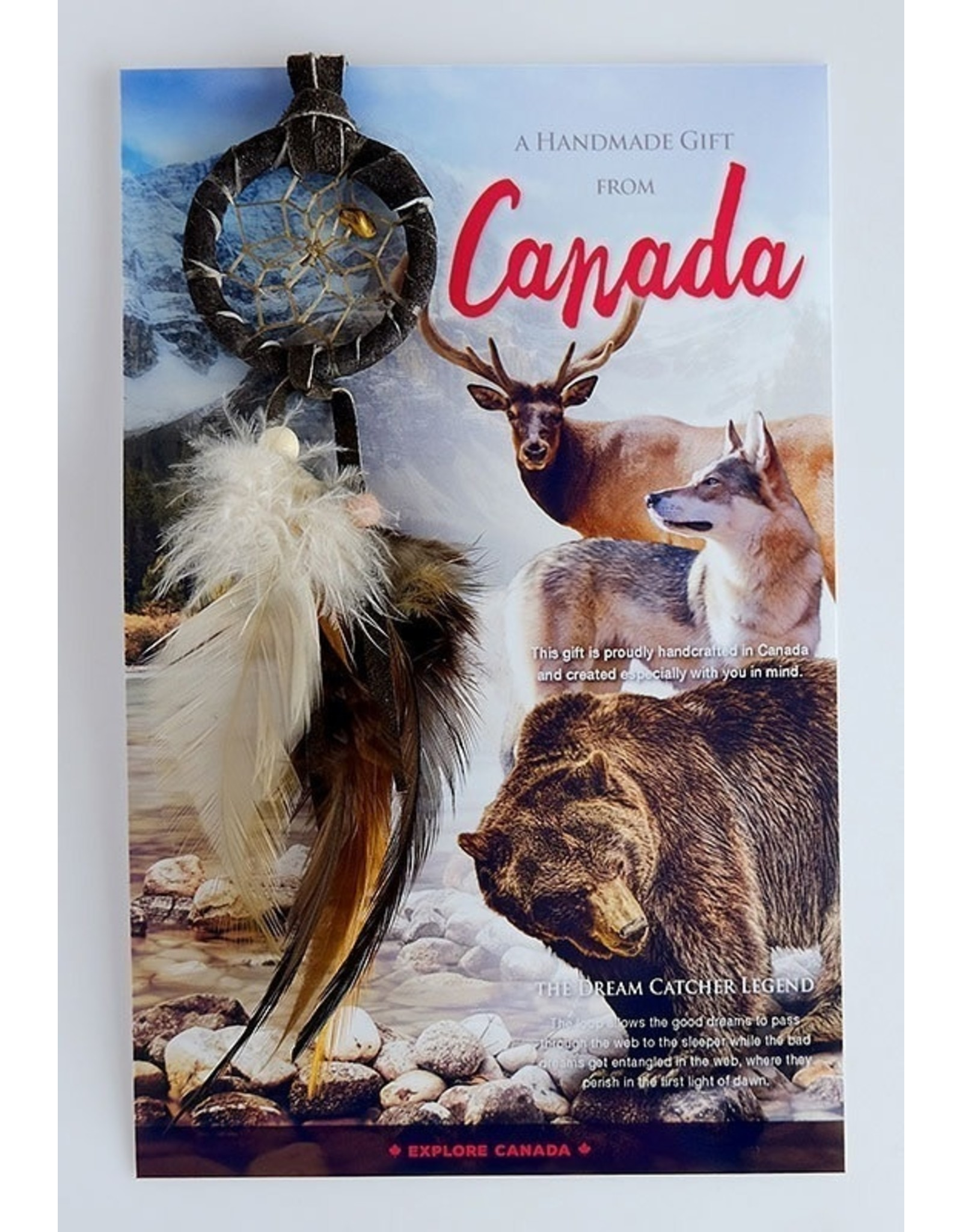 Canada Dreamcatcher with Card - DC20