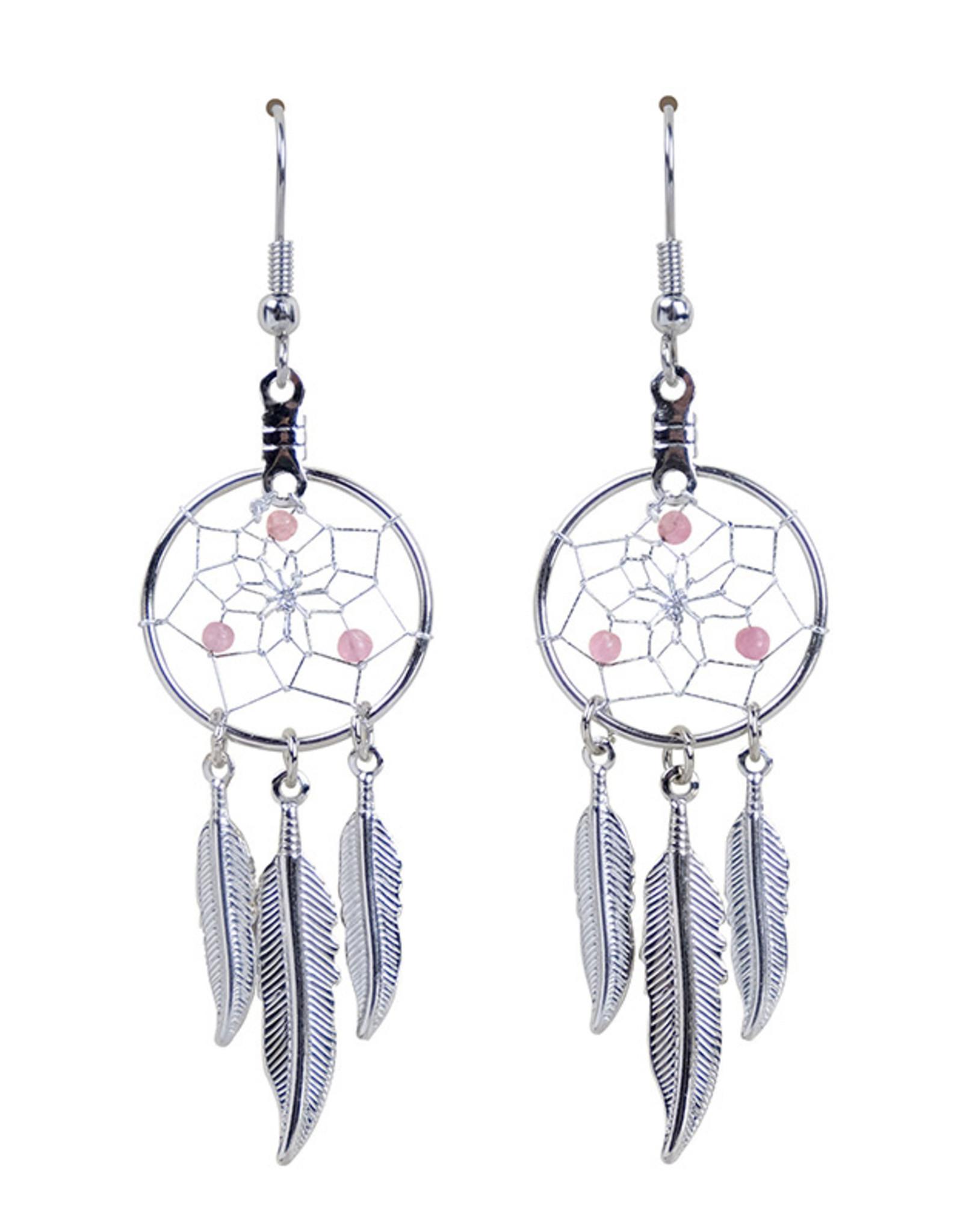 Birthstone Dreamcatcher Earrings - DC17