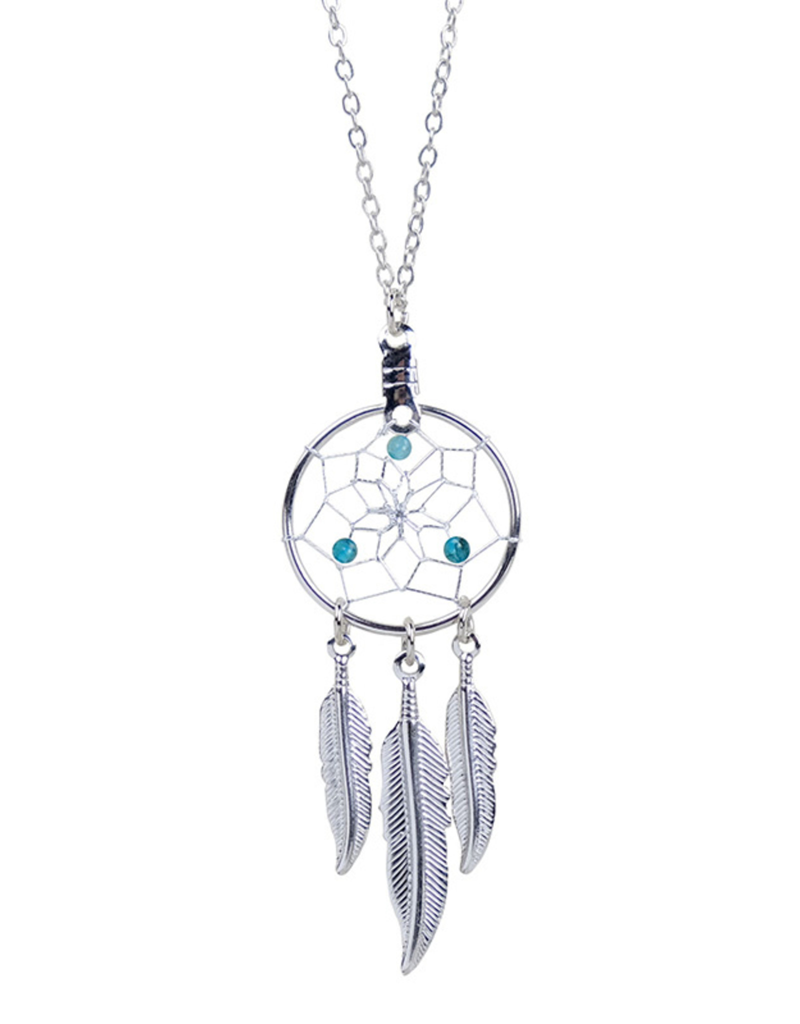 Birthstone Dreamcatcher Necklace - DC17-P