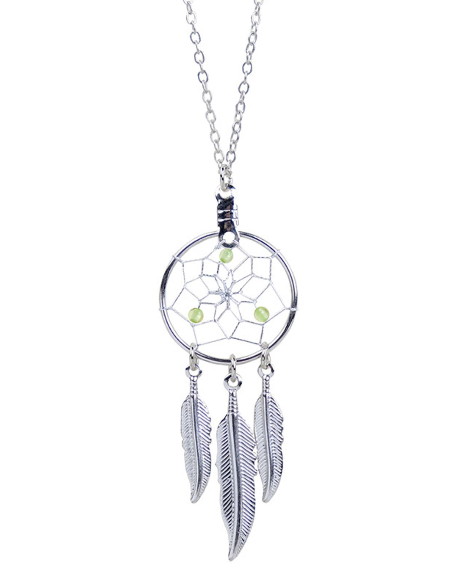 Birthstone Dreamcatcher Necklace - DC17-P