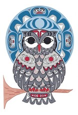 Owl par Angela Kimble Carte