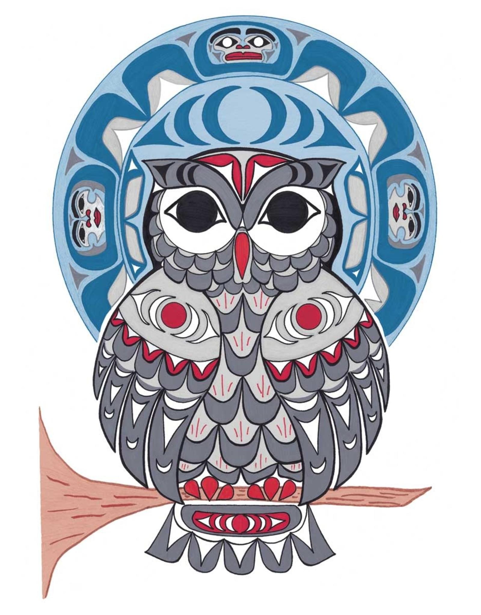 Owl by Angela Kimble Card