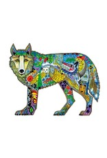 Wolf Standing by Sue Coccia Card