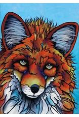 What a Fox by Micqaela Jones Card