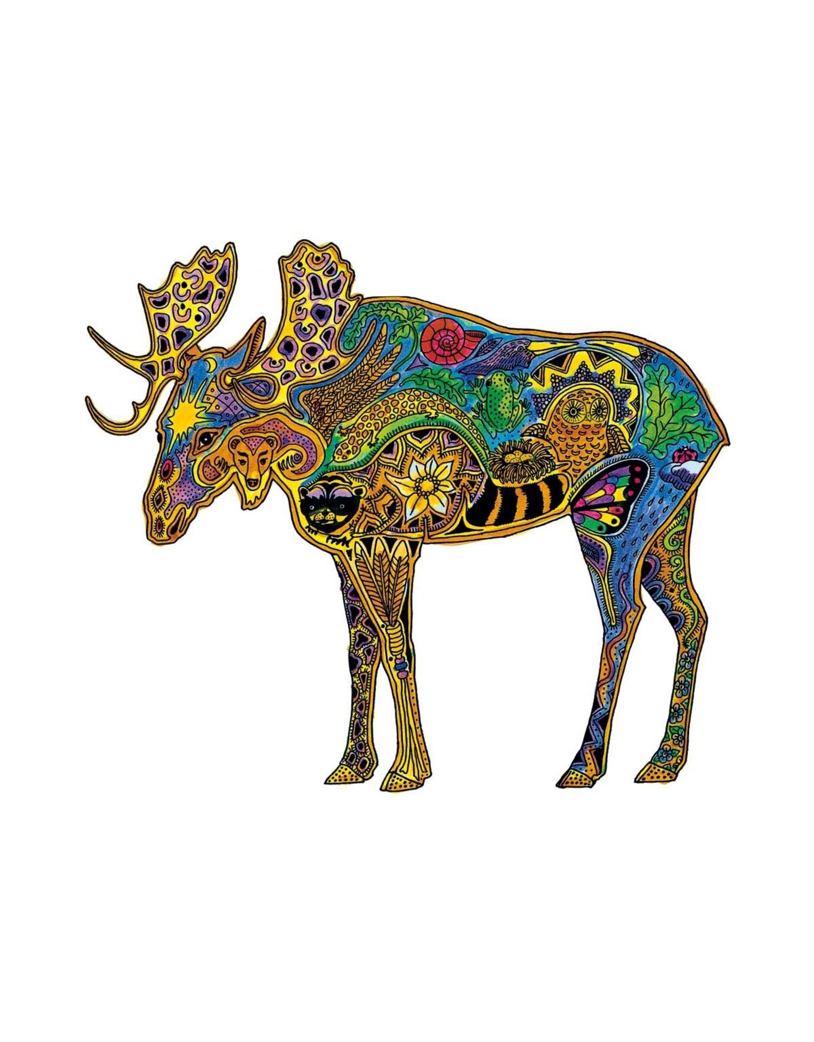 Moose by Sue Coccia Card