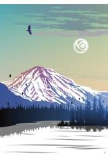 Yukon Mountain by Mark Preston Card