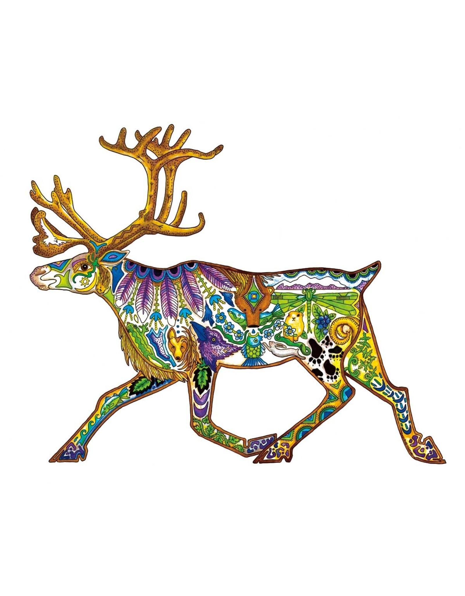 Caribou by Sue Coccia Card