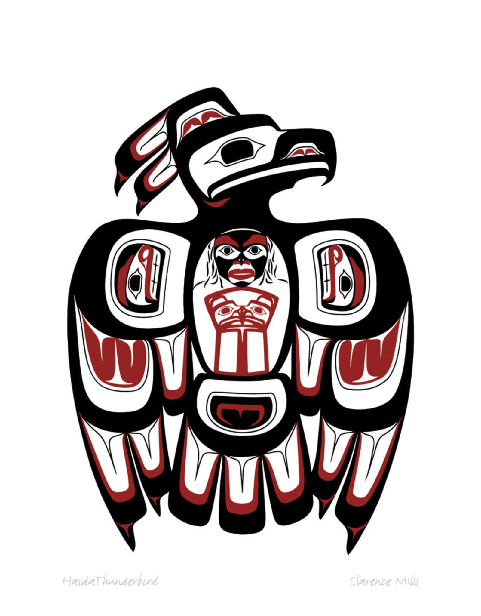 Haida Thunderbird by Clarence Mills Card
