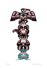 Totem by Richard Shorty Card