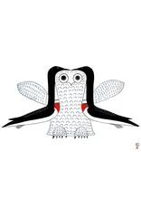 Imaginary Owl by Ohotaq Mikkigak Card