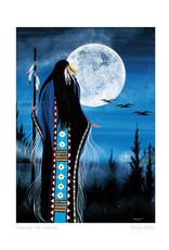Evening Star Woman by Betty Albert Card