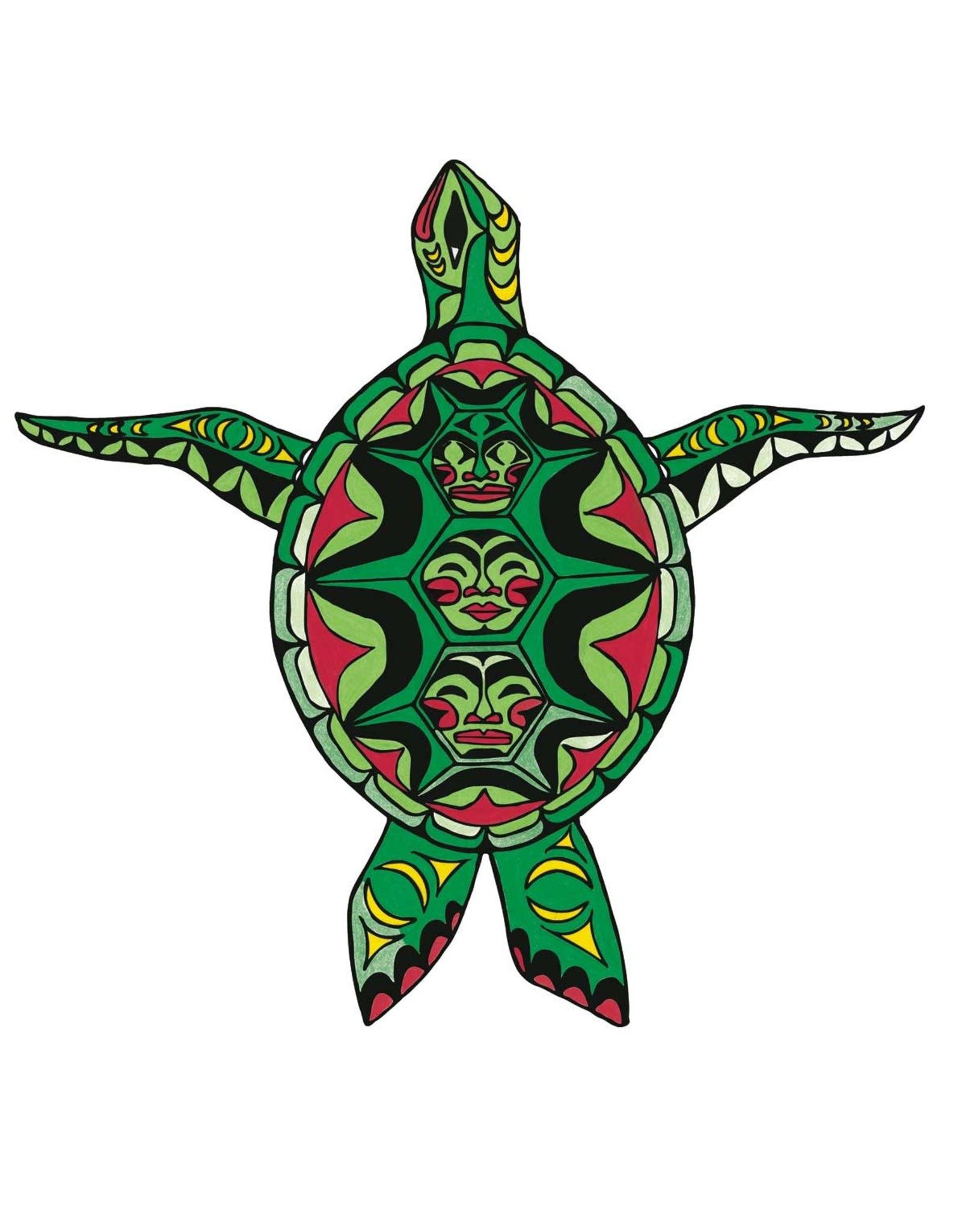 Turtle by Angela Kimble Card