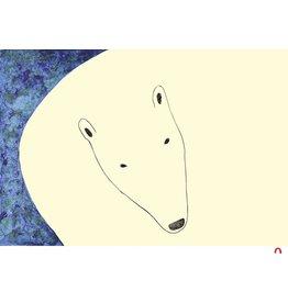 Curious Bear by Ningeokuluk Teevee Card