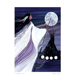 November Moon par Betty Albert Carte