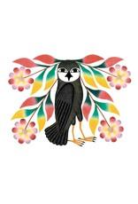 Owl's Bouquet by Kenojuak Ashevak Matted