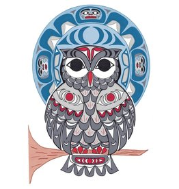 Owl by Angela Kimble Matted